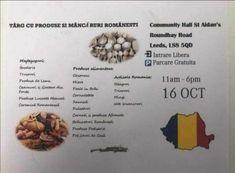 Târg de produse și mâncăruri românești, organizat de un gălăţean în Leeds - Viaţa Liberă Galaţi