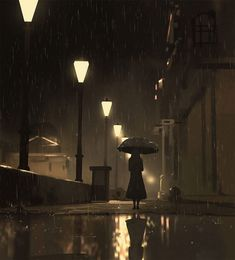 242 365 at night by atey ghailan Exotique 2 Art Anime, Anime Art Girl, Aesthetic Art, Aesthetic Anime, Japon Illustration, Anime Scenery Wallpaper, Environment Concept, Environment Painting, Art Graphique