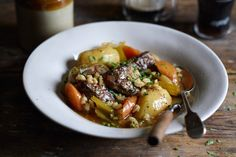 Irish Stew With Pearl Barley