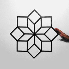 Cool Visuals | Hypnotizing Optical Illusion GIFs Made with Tape