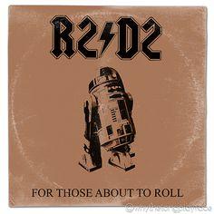 Star Wars / Ac/Dc For those about to Rock l Vinyl Album Cover Mash Up Parody  #acdc #forthoseabouttorock #thelastjedi #lastjedi #jedi #tshirt #mashup #photoshop #parody #albumcover #album #cover #lp #record #vinyl #scifi #nerd #music #movie #geek #lukeskywalker #hansolo #princessleia #r2d2 #c3po #darthvader #chewbacca #harrisonford #carriefisher #markhamill #daisyridley #johnboyega #whythelongplayface #whythelpface #redbubble #etsy #metal #retro