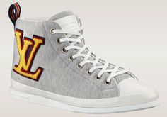 Louis Vuitton Fastball sneaker (Grey & Yellow & Red)