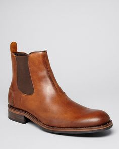 $290, Wolverine Montague Chelsea Boots. Sold by Bloomingdale's. Click for more info: https://lookastic.com/men/shop_items/143412/redirect