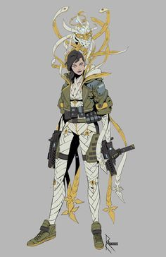 Tagged with funny, gaming, creativity, sins, virtue; Robert Chew's concept art for a shooter game featuring 7 deadly sins vs 7 virtues Arte Ninja, Character Concept, Character Art, Concept Art, 7 Deadly Sins, Sci Fi Characters, Shadowrun, Character Design References, Character Design Inspiration