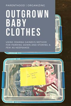 In this post, you'll read about what Joanna Gaines shared on Instagram about what she does when her babies outgrown their clothing. One of her projects involved going through her four children's outgrown baby clothes, and I simply fell in love with what I saw her do. She set out four small bins and packed each one with a modest handful of the most special items from her sons' and... | More on WhimsicalSeptember.com Joanna Gaines, Falling In Love, Gift Guide, Sons, Whimsical, September, Babies, Future, Children