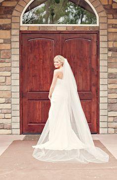 love this bridal shot!