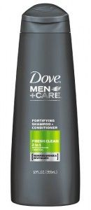 Dove men+care fresh clean 2 in 1 shampoo and conditioner. http://www.buythebest10.com/top-10-best-hair-conditioner-men-reviews/