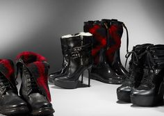 Burberry - F/W collection of BOOTS