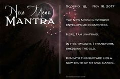 Moon Facts, Scorpio Moon, New Moon, Old Things, Surface, Mood, Zodiac, Witch, Witches