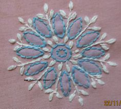 My craft works: Chikankari Motifs