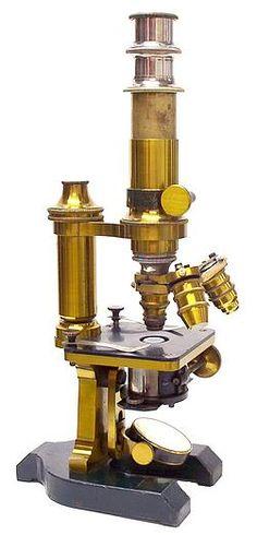 microscope c. 1884 So similar, right?