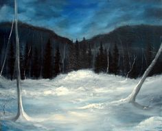 Buy Winter night in Vidalen, Oil painting by Heidi Irene Kainulainen on Artfinder. Discover thousands of other original paintings, prints, sculptures and photography from independent artists. Paintings For Sale, Original Paintings, Winter Night, Irene, Sculptures, My Arts, Oil, Artists, Mountains