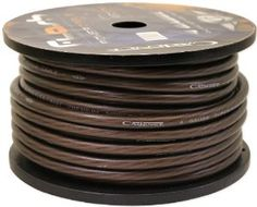 Cadence 4G150-BLACK 4 Gauge 40 Foot Black Amp Power Wire Spool w/ Cool Cable Technology (Cut from a 150 Foot Spool) by Cadence. $34.95. Cadence 4G150-BLACK 4 Gauge 40 Foot Black Amp Power Wire Spool w/ Cool Cable Technology (Cut from a 150 Foot Spool) Features:  Model: 4G150-BLACK Gauge: 4 Gauge Wire Length: 40 feet Cadence Cool Cable Technology Special Winding Configuration Reduces Unwanted Noises and Maximizes Current Transfer High Purity Oxygen Free Copper Standing Incre...