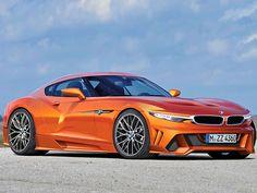 Könnte es auch ein BMW Z4 Coupé geben? Eine Illustration gibt eine erste Idee, wie der neue Roadster als scharfer Eckenwetzer mit Blechdach aussehen könnte!