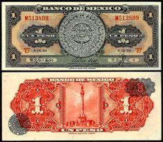 Billete 1 Peso