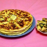 Хачапури с творогом на сковороде