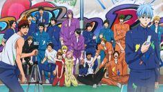 Kiseki no Sedai Team — Kuroko no Basuke End Story: Part 1 Anime Guys, Manga Anime, Anime Art, Haikyuu, Kuroko No Basket Characters, Desenhos Love, Susanoo Naruto, Kiseki No Sedai, Akakuro