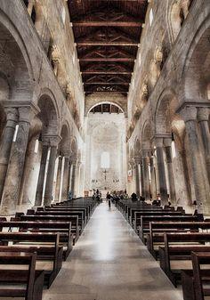Tela Artistica - Cattedrale di Trani Bari - Ph. Benny Maffei