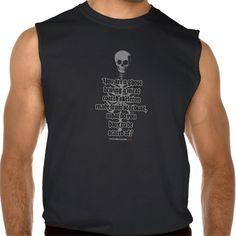 ghost sleeveless tee Tank Tops