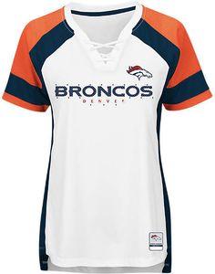 f4fd29cb4 Majestic Women s Denver Broncos Draft Me T-Shirt Women - Sports Fan Shop By  Lids - Macy s