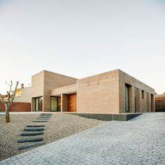 Completed in 2017 in Viladecavalls, Spain. Images by Aitor Estévez. The project involved the design and construction of a suburban detached home, located on a square 600 m2 plot. In general terms, the residential...