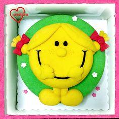 Loving Creations for You: Little Miss Sunshine Chiffon Cake