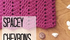 Spacey Chevrons Cowl Crochet Pattern