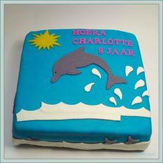 Taart&Co Tholen: Dolfijnen taart