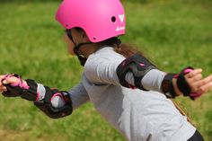 Adjustable 4 full sizes, comfortable, easy to use…   Get the kids rolling now. Inline Skates For Kids, Bicycle Helmet, Closure, Easy, Cycling Helmet