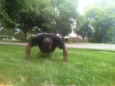 22 Pushup Challenge Day 4, It's hot today!