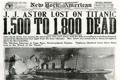 14 Aprile 1912: scontro fra Titani.