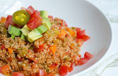 Mexican Quinoa as based on the favorite mexican rice.