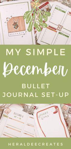 Bullet Journal Set Up, Bullet Journal Cover Page, Bullet Journal Themes, Bullet Journal Layout, Journal Covers, Bullet Journal Inspiration, Journal Pages, Calendar Stickers, Classy Christmas