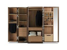 Acheter en ligne Nuit By riva 1920, armoire en bois design Giuliano Cappelletti