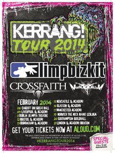 Kerrang! Tour February 2014