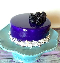 This Blackberry mousse cake has everything it needs to be a great dessert. The base is a chocolate Italian sponge cake. It's dark and moist, sweet, and has the distinctive flavor of chocolate. The d...