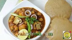 Mushroom Chickpea Curry - Dhingri Chole - By Vahchef @ vahrehvah.com | My Sweet Tooth