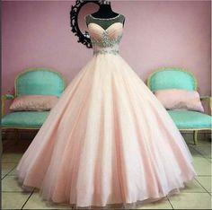 Evening Dresses, Prom Dresses,New Arrival Prom Dress,Amazing Pink A-line beading long prom dress,evening dress,formal dress
