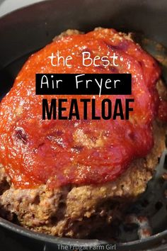 Meatloaf in the Ninja foodi is moist and delicious. I took a classic recipe and put a little twist for the whole family to enjoy. Pressure cook and then finish it with the air fryer for a crisp top you won't get in the oven. Air Fryer Recipes Low Carb, Air Fryer Dinner Recipes, How To Make Meatloaf, Air Frier Recipes, Meat Loaf, Loaf Pan, Meatloaf Recipes, Keto, Street Food