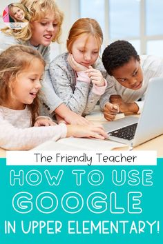 Tips for using Google Classroom in upper elementary for teachers. Help your students be more independent with their technology, and create some management and organization through distance learning and virtual teaching by following these easy ideas and technology tips.