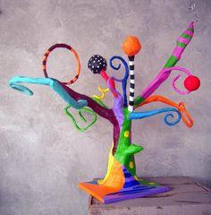 Tree with surprises - Mixed Media © 2011 by Atelier Terre de Sienne - Media mi ,