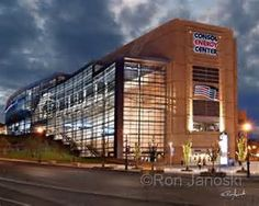 Lord Stanley, this is a gorgeous picture of the Consol Energy Center in Pittsburgh. Go Pens!