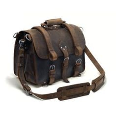 Made by Leyden and Sons Leather Bag Co. this Roosevelt styled Saddlebag speaks of elegance and practicality with its vintage character.  It is crafted from 100% top-grain leather with suede lining and is available in Large and X-Large.
