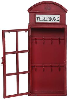 London bedroom themes, room london, london decor, london telephone booth, b London Decor, Room London, British Home Decor, London Telephone Booth, Hanging Jewelry, Bedroom Themes, My Room, Home Depot, Decoration