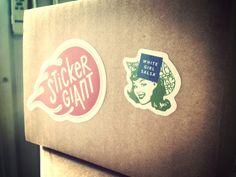 White Girl Salsa sticker