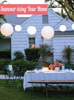 12 Tips for Summer-izing Your Home: How to Get Your Indoors and Outdoors Ready for the Heat