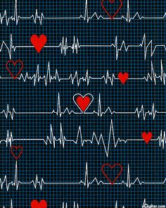 eQuilter Calling All Nurses - Cardiograph - Black Nursing Wallpaper, Medical Wallpaper, Cute Wallpaper For Phone, Heart Wallpaper, Love Wallpaper, Wallpaper Backgrounds, Iphone Wallpaper, Scrapbook Paper, Scrapbooking