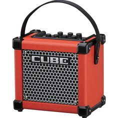 Roland Micro Cube GX Battery Powered Guitar Combo Amp Red in Musical Instruments & Gear, Guitars & Basses, Guitar Amplifiers Guitar Cable, Better Music, Music Store, Guitar Amp, Musical Instruments, Cube, Musicals, Mini, Stuff To Buy