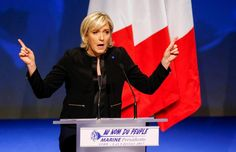 #world #news  Polls show French far-right Le Pen winning election first round, but losing knockout