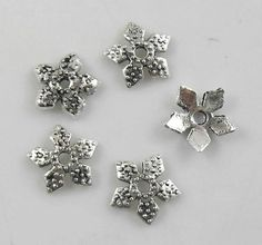 Set of 50 pcs  Tibetan Tibet Antique Silver style by CHICBean, $5.00
